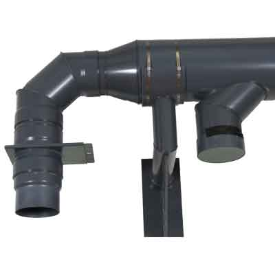 Duct Pipe Wall Support Bracket